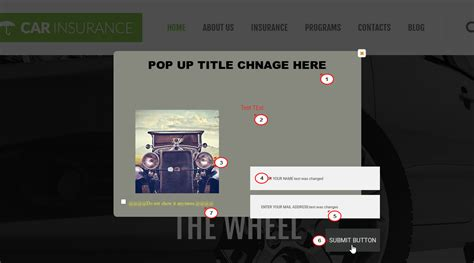 tutorial wordpress popup cherryframework 3 how to manage yith popup newsletter