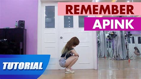 tutorial dance apink remember tutorial mirror dạy nhảy apink remember panoma dance
