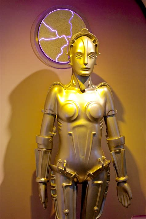 film robot wikipedia file maria from the film metropolis on display at the