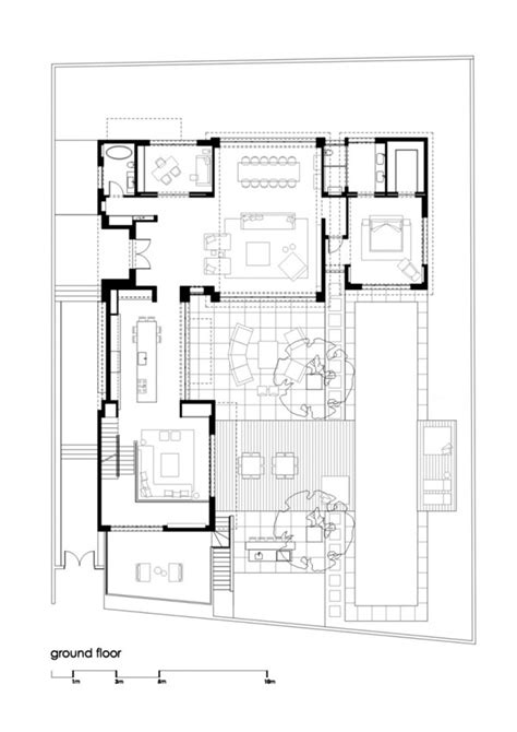 family home plan modern family house floor plan modern grey tile floor