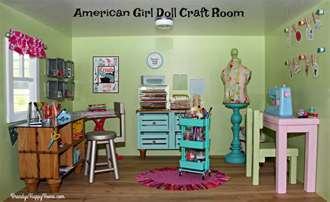 american room crafts american dollhouse craft room