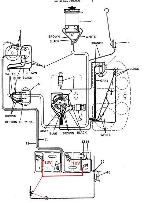 5 best images of deere 4020 wiring diagram