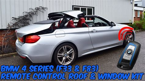 bmw  series   convertible remote roof open