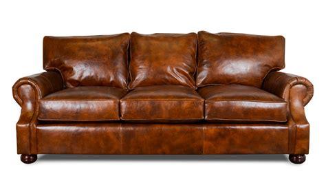 made leather sofa cococohome jackson leather sofa made in usa