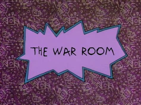 war room wiki the war room rugrats wiki fandom powered by wikia