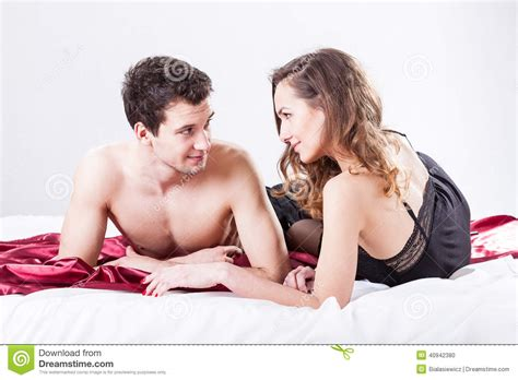 sexy couples in bed sexy couple in bed stock photo image 40942380