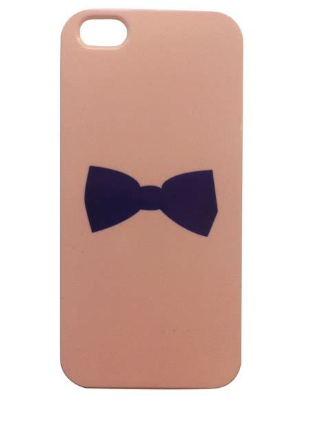 Big Black Bow For Iphone 5 5s bow tie iphone 5 5s cover enigma shopping