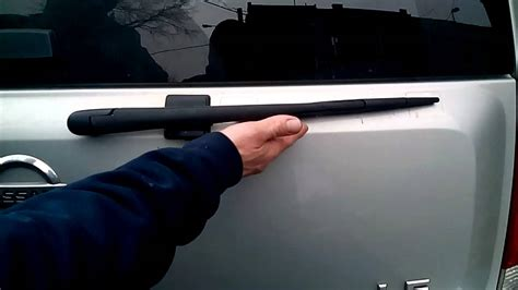 how do you replace the rear wiper on a 2008 acura rdx 2008 acura rdx support how to replace nissan armada rear windshield wiper blade youtube