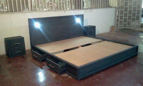 cama king size precios cama king size 2 x 2 negro mate bs 1 550 250 00 en