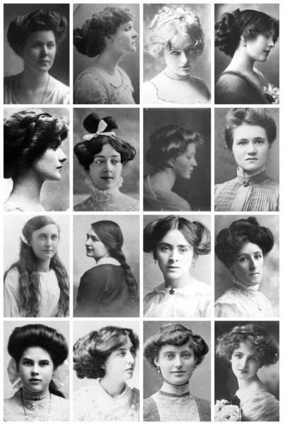 womens edwardian hairstyles an overview hair and women s hairstyles from the early 1900s part ii belle