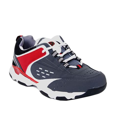 tuffs sports shoes price tuffs gray synthetic leather sports shoes price in