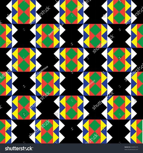 Zulu Pattern Vector | seamless zulu pattern stock vector illustration 96985415