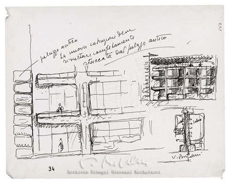 cassa di risparmio di ravenna sede centrale archivio disegni michelucci