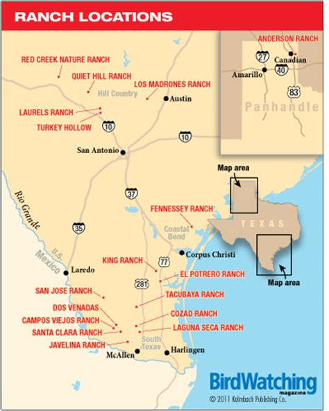 king ranch map texas four ranches in the lone state birdwatching