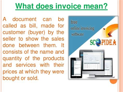 what does invoice mean free business template