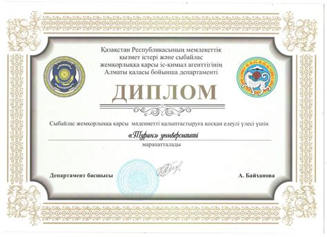 Mba Academic Honesty by Turan Was Awarded For The Academic Honesty
