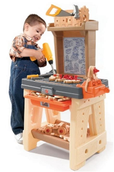 kids  piece toy workbench work bench  building