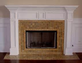 fireplace tile design ideas on the mantel and hearth