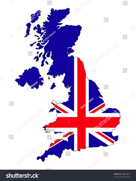 Email Address Search Uk Map Of Uk Filled With Union Flag Of United Kingdom States Stock Vector