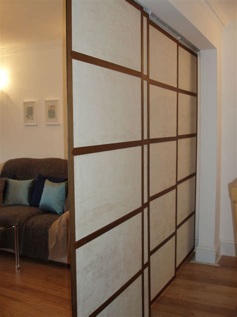 dining room divider shoji japanese sliding panels