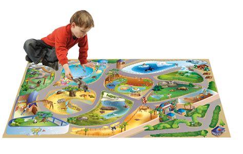 grand tapis de jeu tapis de jeu zoo 100 x 150 cm 11227 achat vente