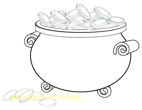 pot of gold coloring page pot of gold coloring page printable gold coloring pages