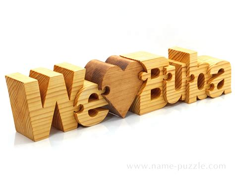unique gifts wooden name puzzle a special personalized gift