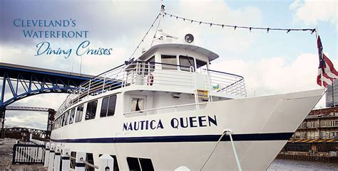 dinner boat ride cleveland ohio the nautica queen cleveland s dining cruise ship