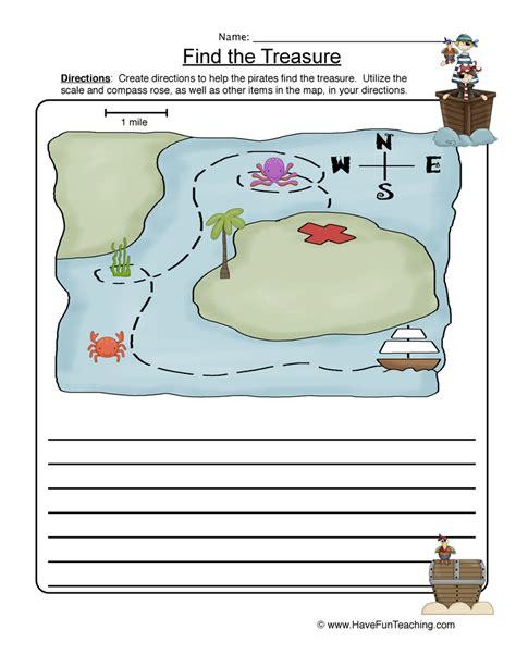 Map Worksheets by Map Skills Worksheet Teaching