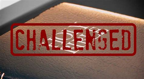 list of challenged books bible in top 10 list of challenged books