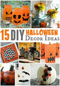 Halloween Decor Ideas Diy 15 Diy Halloween Decor Ideas