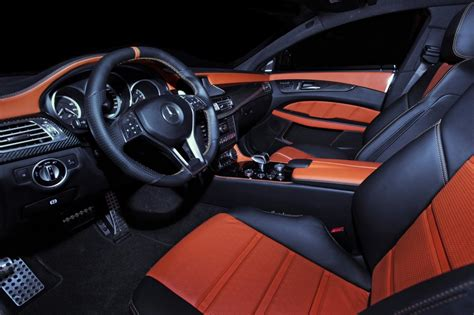 Mercedes Cls 63 Amg Interior by Gsc Mercedes Cls 63 Amg Looks Performancedrive