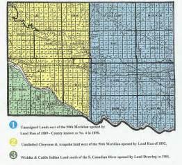 creation map of canadian county oklahoma