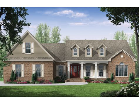 Pickford Place Country Home Plan 077d 0131 House Plans Authentic Country House Plans