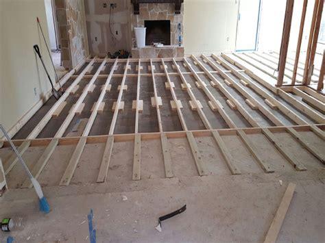 Raising Concrete Floor Height by Raising A 1960s Sunken Living Room Floor Pro Remodeler