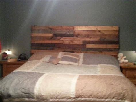wood pallet headboards diy reclaimed pallet headboard pallet furniture diy