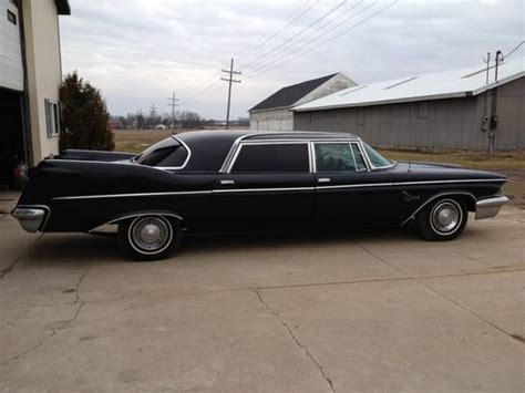 chrysler imperial limousine for sale 1960 crown imperial limousine on craigslist
