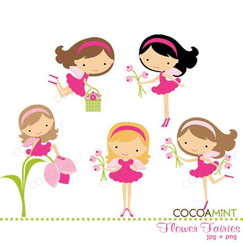 fee clipart flower fairies clip