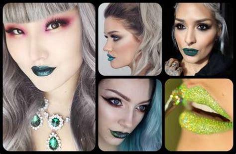 imagenes de labios verdes labios de colores llamativos la nueva tendencia en instagram