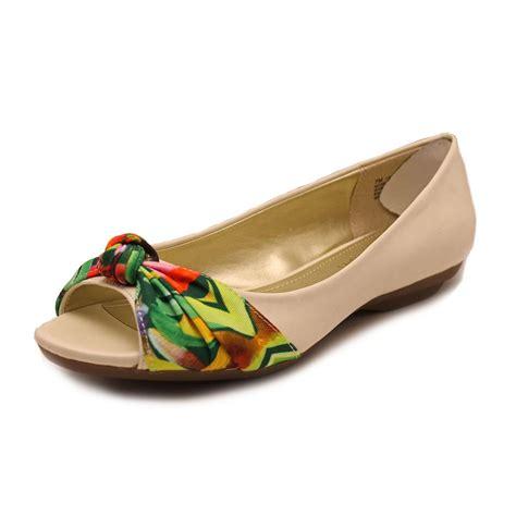 mootsie tootsie shoes mootsies tootsies ameliah womens peep toe flats shoes ebay