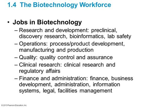 evisions inc education and research administration the biotechnology century and its workforce ppt download