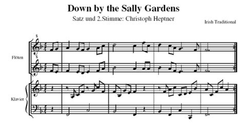 By The Sally Gardens by Musicalion By The Sally Gardens Arr