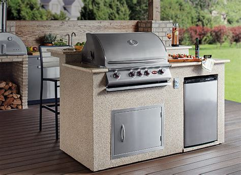 outdoor kitchen carts and islands bull outdoor kitchen outdoor kitchens the home depot