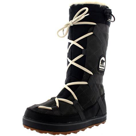 snow boots for uk womens sorel glacy explorer waterproof winter fur
