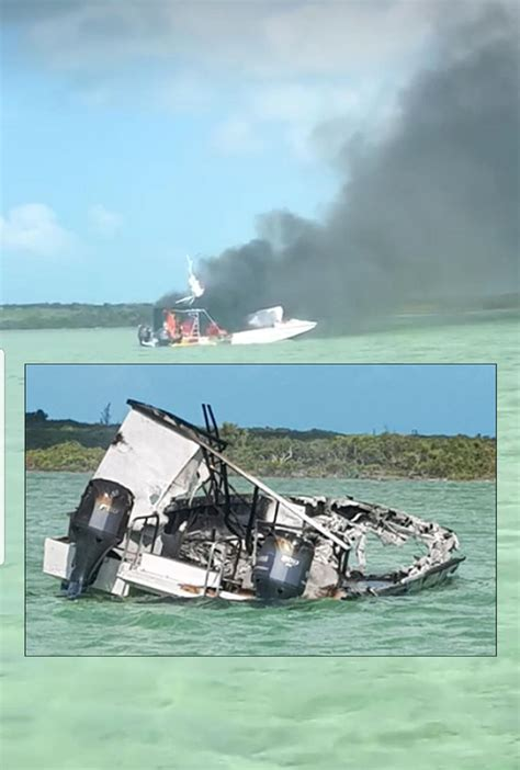 serious boat accident in barraterre exuma this morning - Boating Accident Exuma Bahamas
