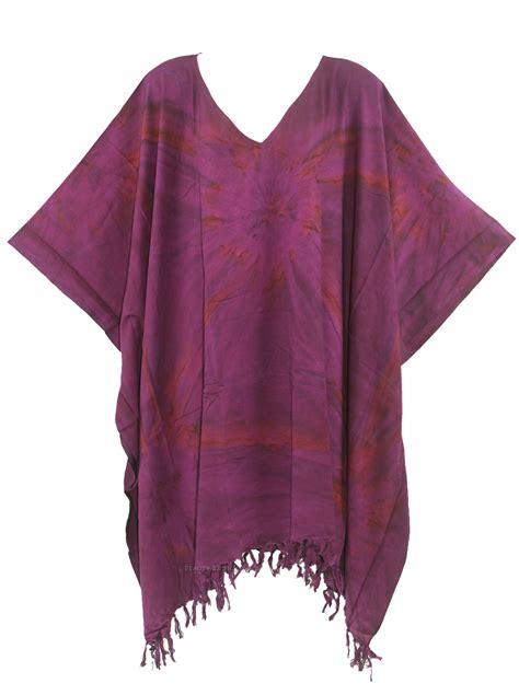Tunic Boho Batik Tasya Blouse boho hippie tie dye plus size tunic blouse kaftan
