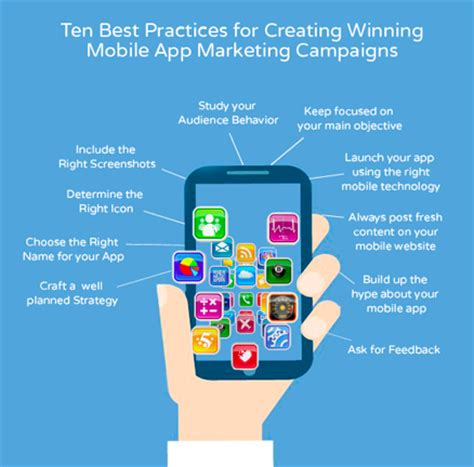 10 tips for creating mobile app marketing caigns