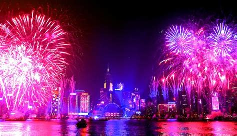 new year traditions in hong kong dubai suffers hotel inferno but new year celebrations