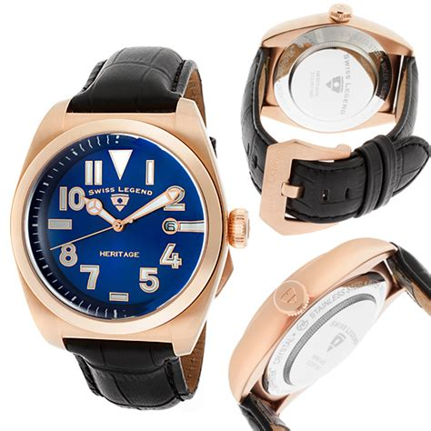 Swiss 8151 Black Rosegold List gold s and s watches