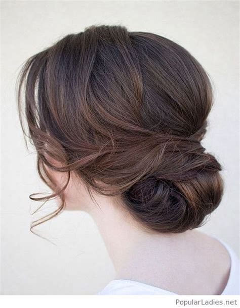 Vintage Style Wedding Hair by Low Bun Wedding Hair Vintage Style